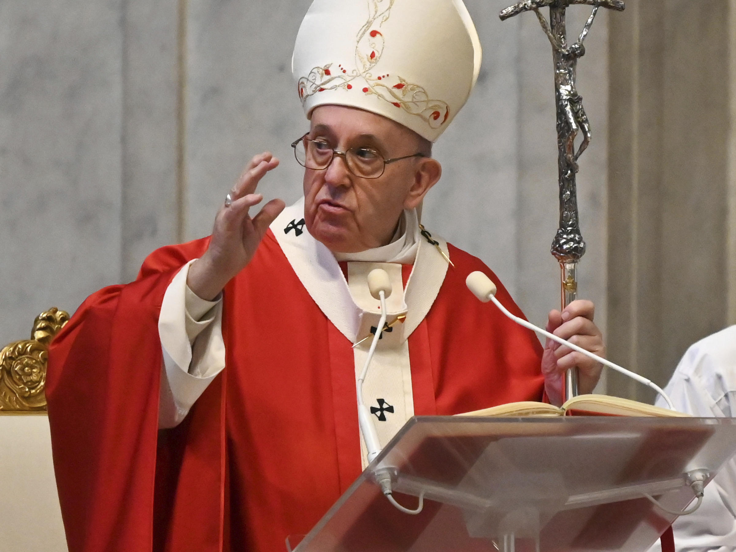 This Is Not Humanitys First Plague Pope Francis Says Of