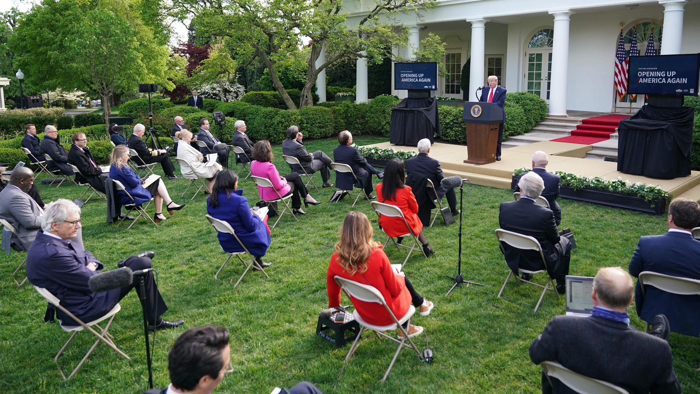 White House Releases Coronavirus
