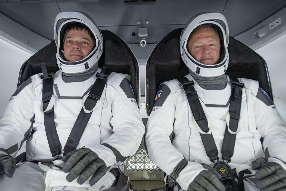 Meet the NASA astronauts who will fly on historic SpaceX mission