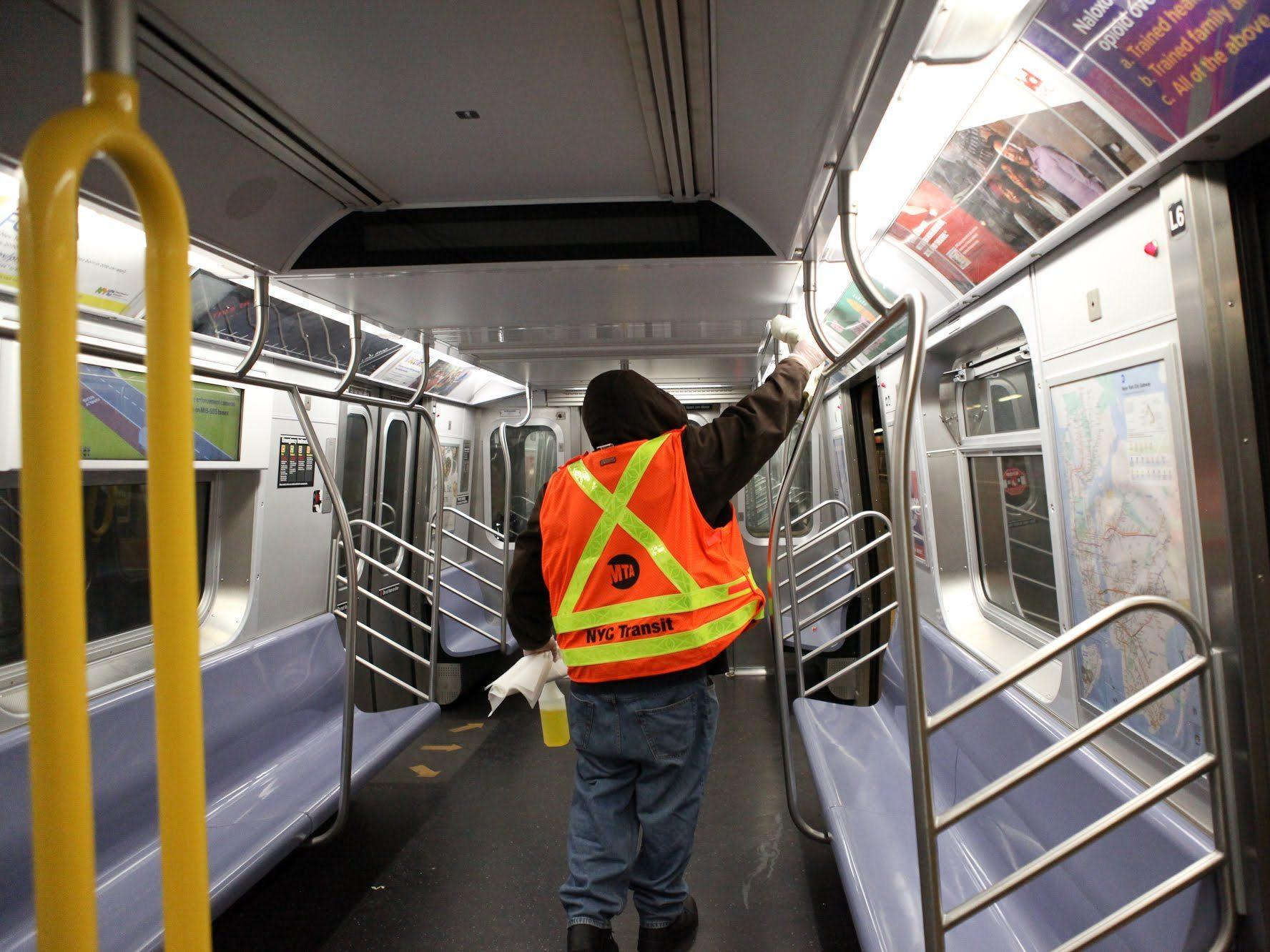 Historic New York City subway shutdown for cleaning deemed 'successful'