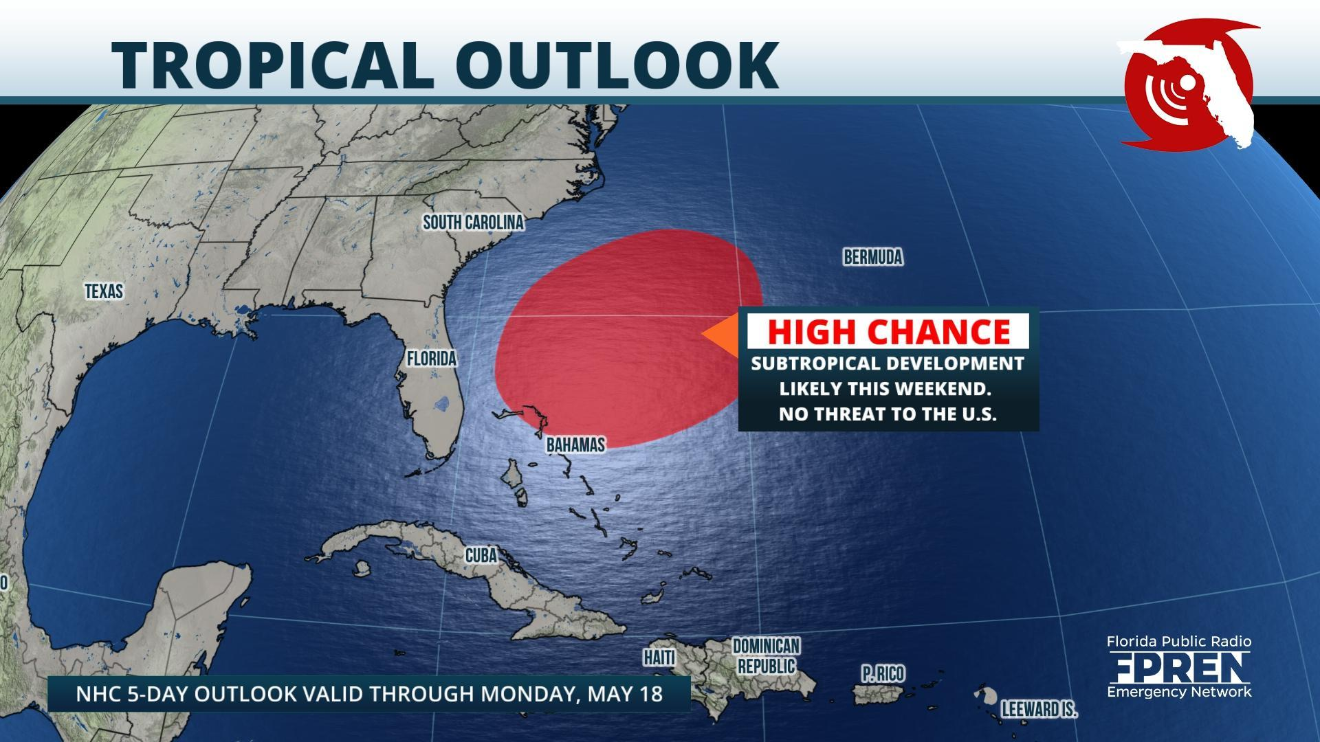 The First Tropical Storm Of The Season Could Hit Florida This Weekend