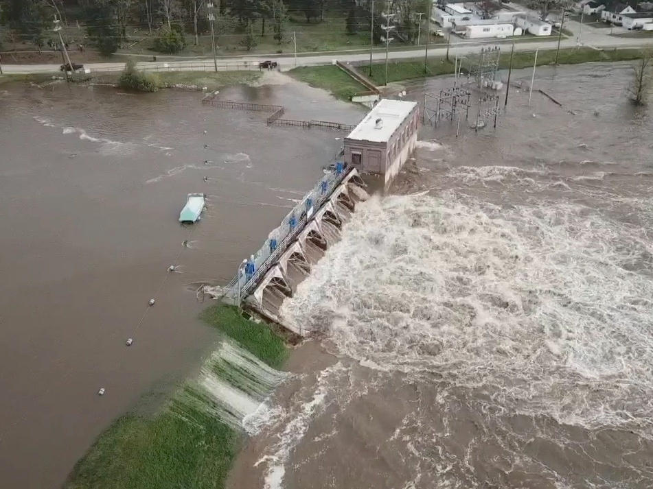 'Catastrophic' Dam Failures In Michigan Force Thousands To Evacuate