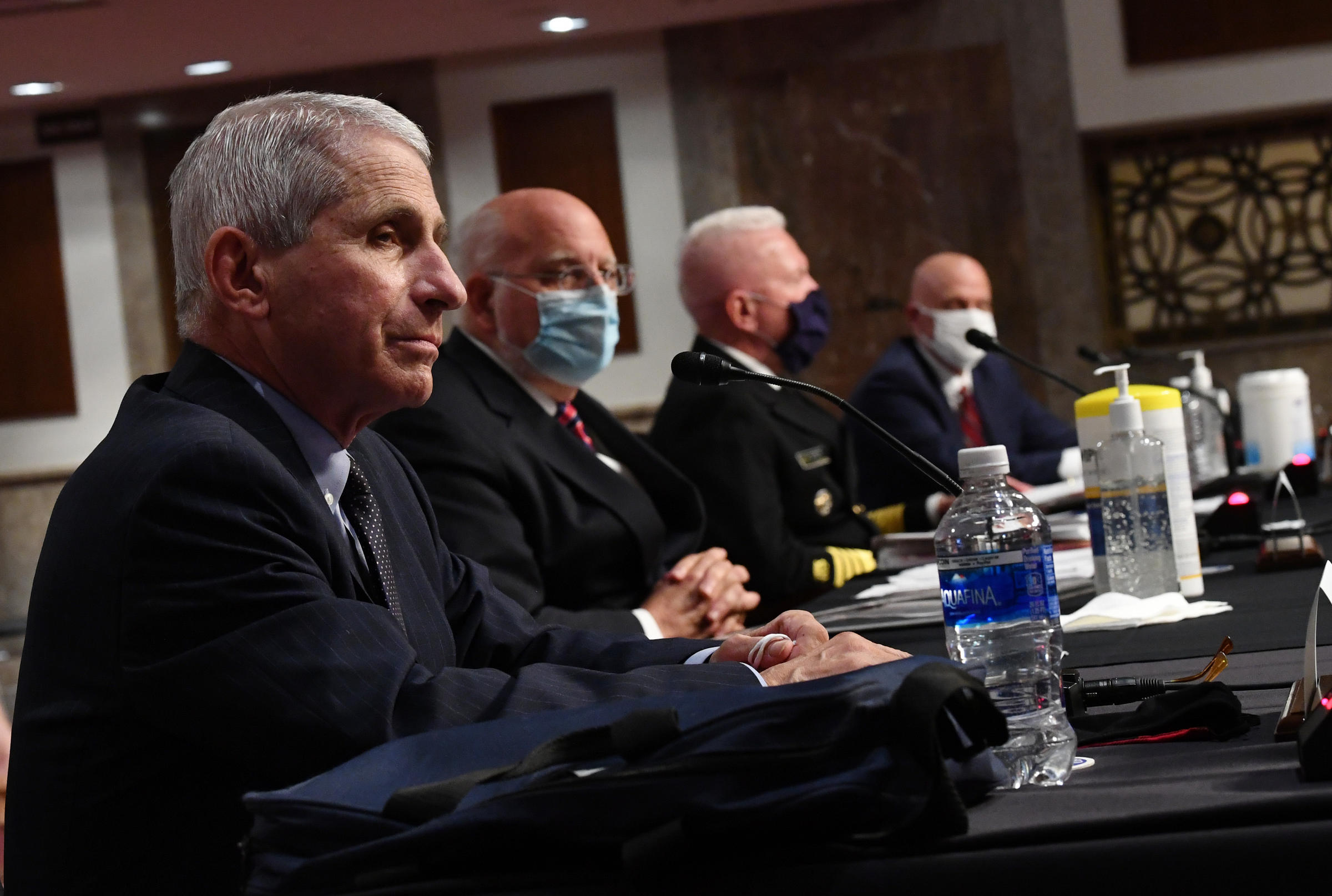 United States  could reach 100,000 new virus cases a day, Fauci says
