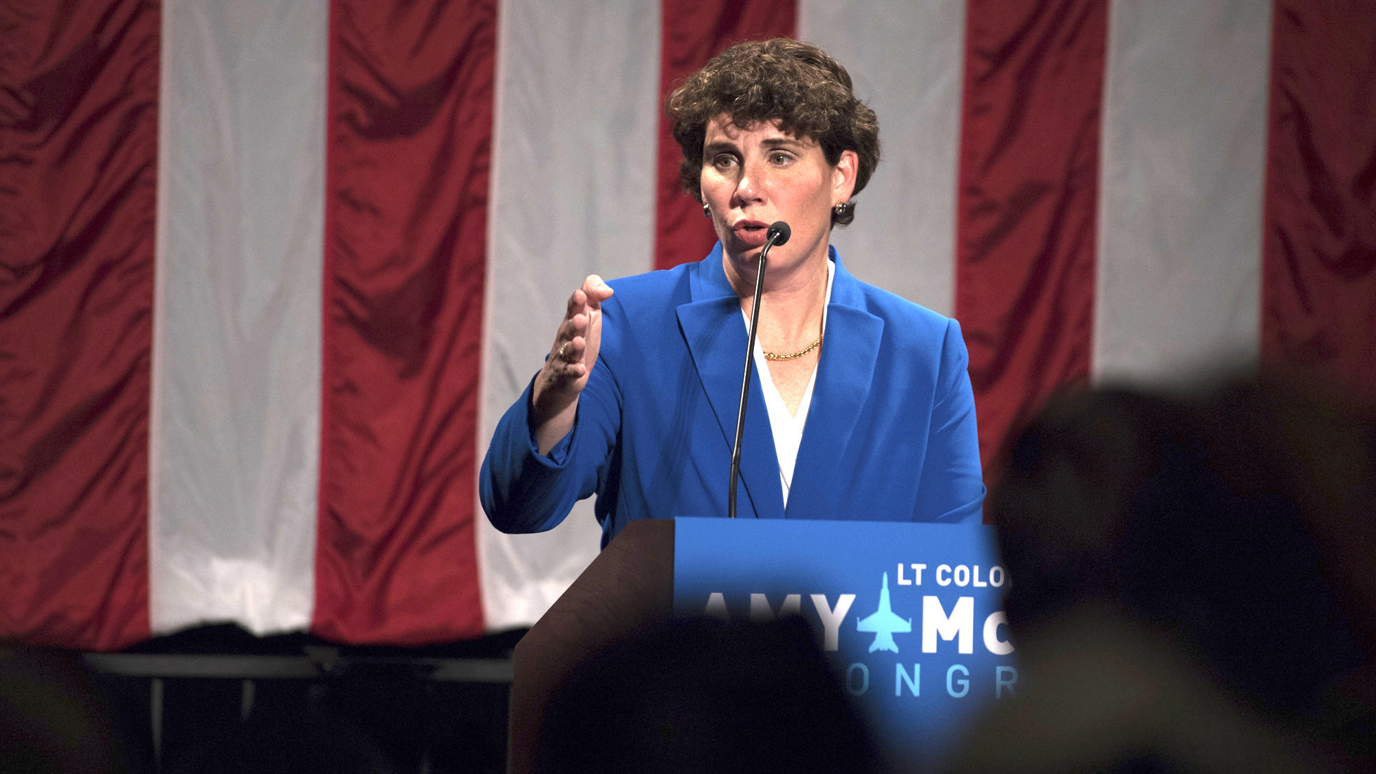 Amy Mcgrath Is Projected To Edge Out Charles Booker In Ky Senate Democratic Primary Npr Illinois