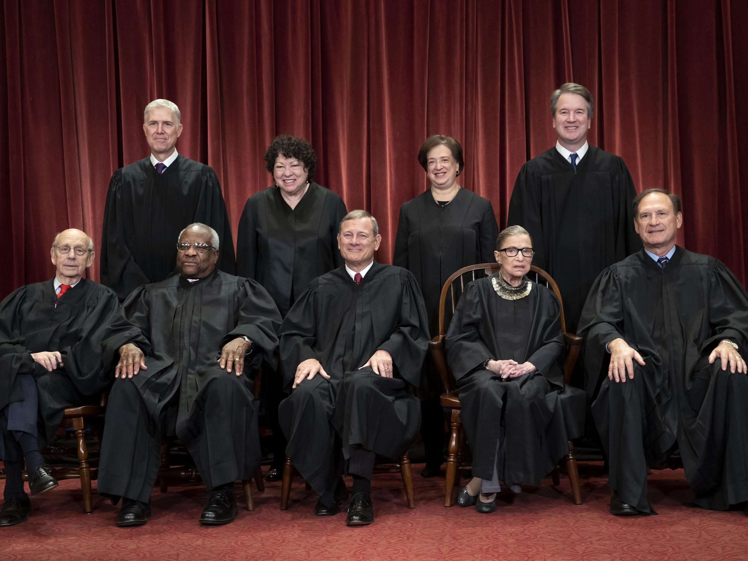 US Supreme Court judges show they won't be taken for granted