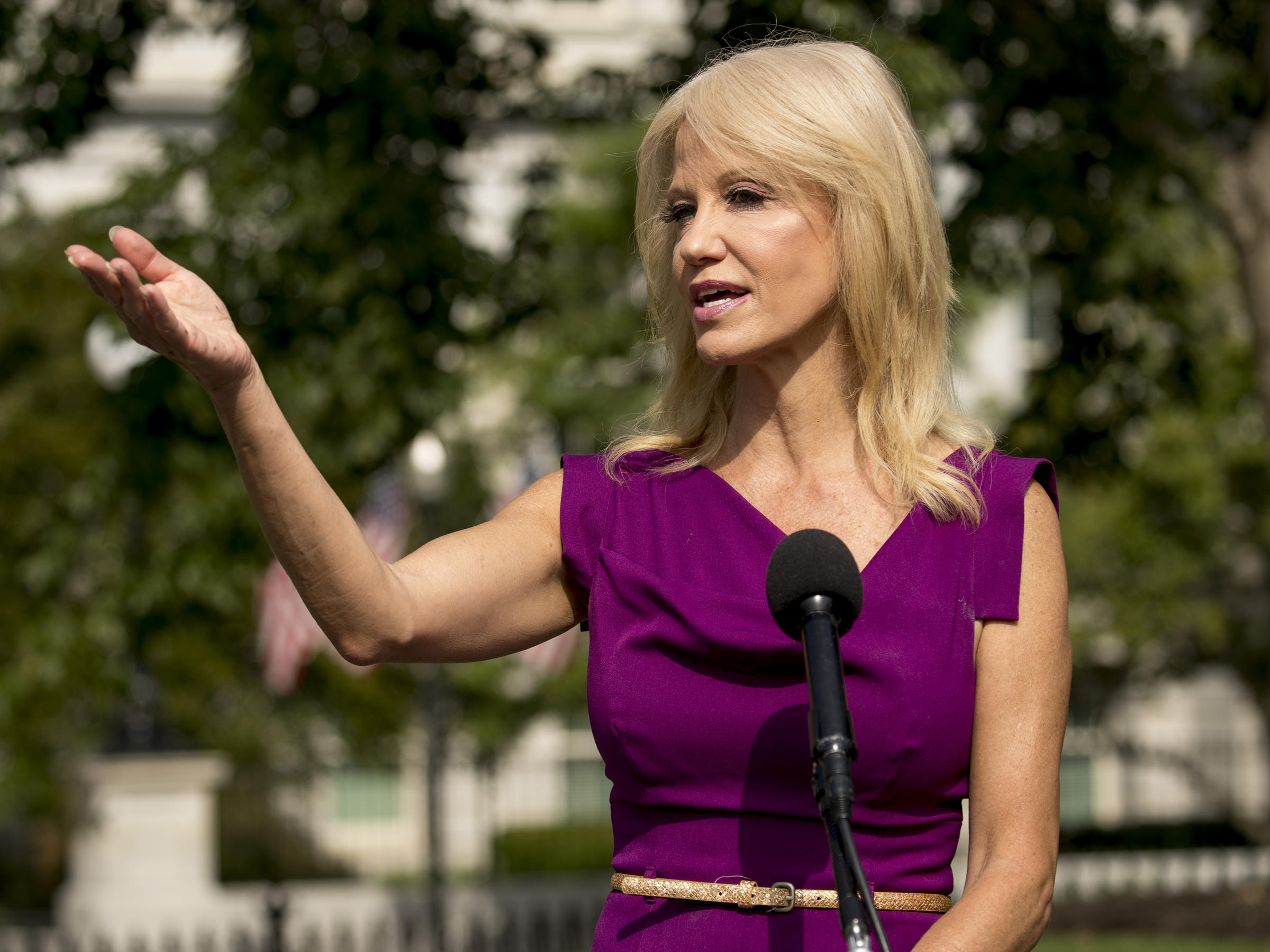 Kellyanne Conway To Leave White House Job Citing Family Concerns Wamc