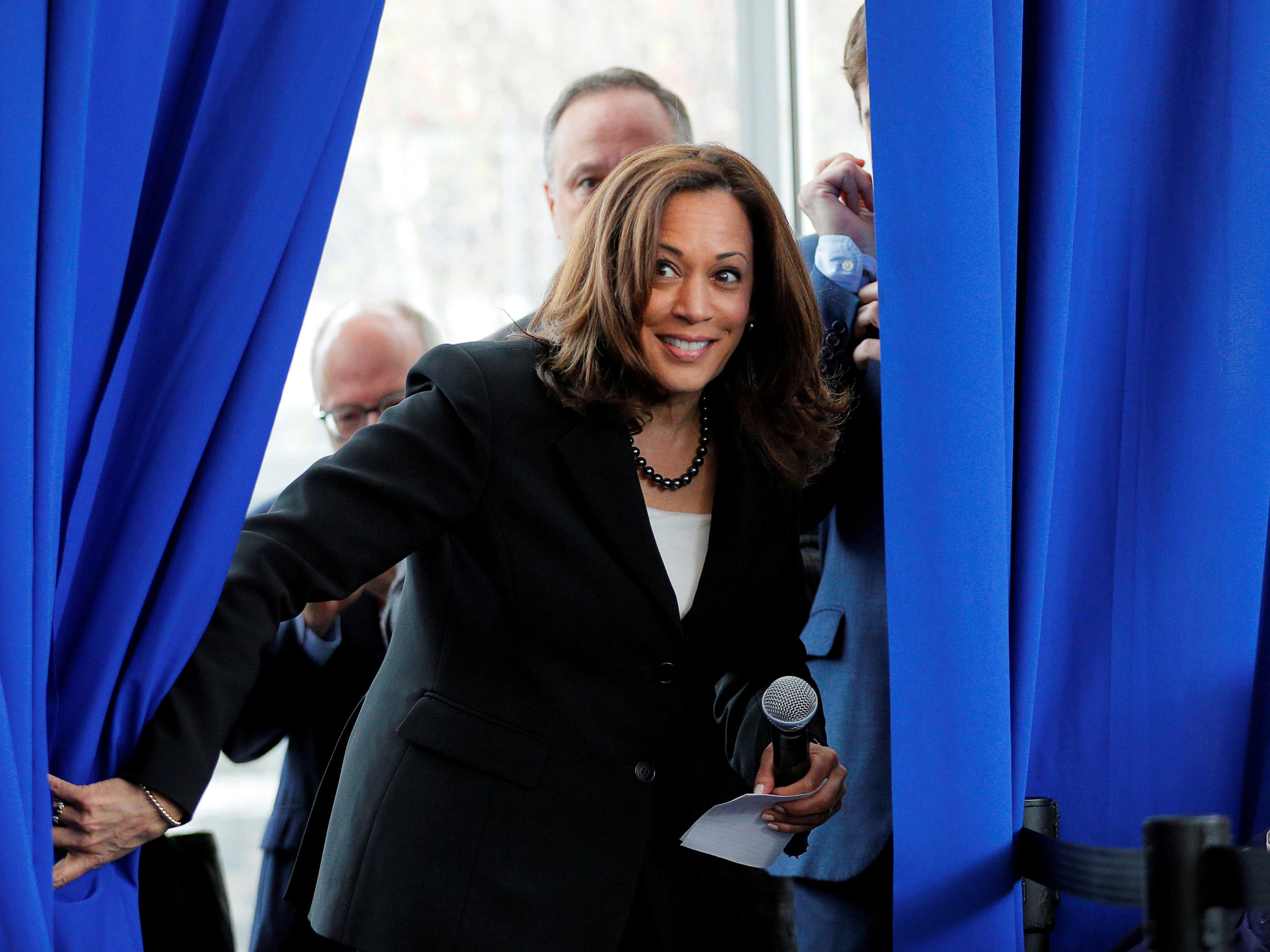 In Historic Pick Joe Biden Taps Kamala Harris To Be His Running Mate Kosu