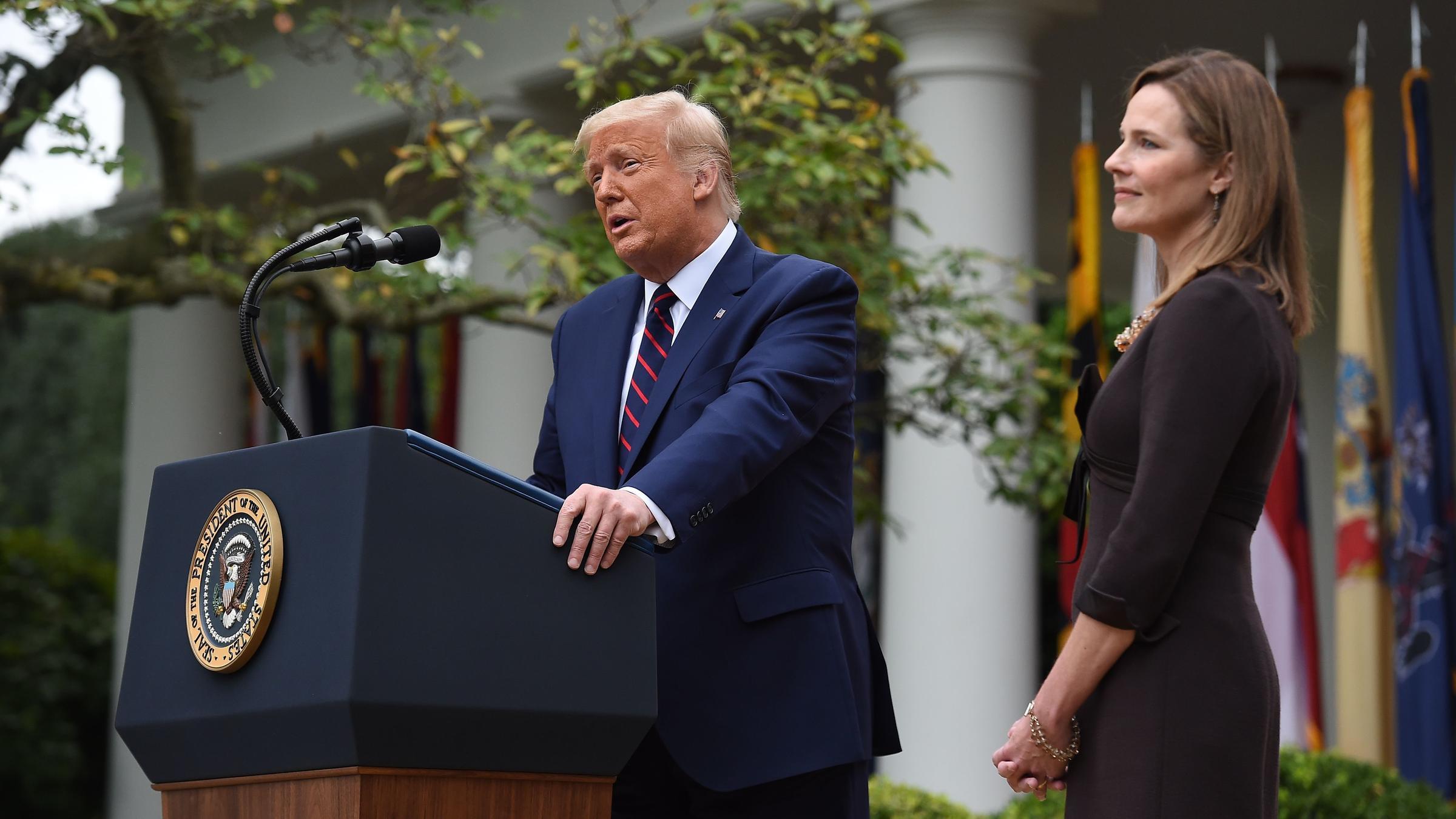 Trump Announces Amy Coney Barrett As His Supreme Court Nominee | KLCC