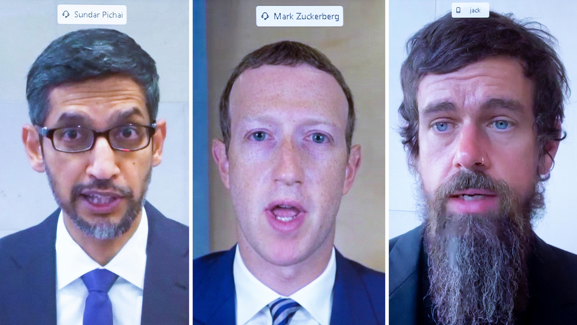Facebook, Twitter, and Google CEOs Testify Before Congress About Misinformation and Online Extremism