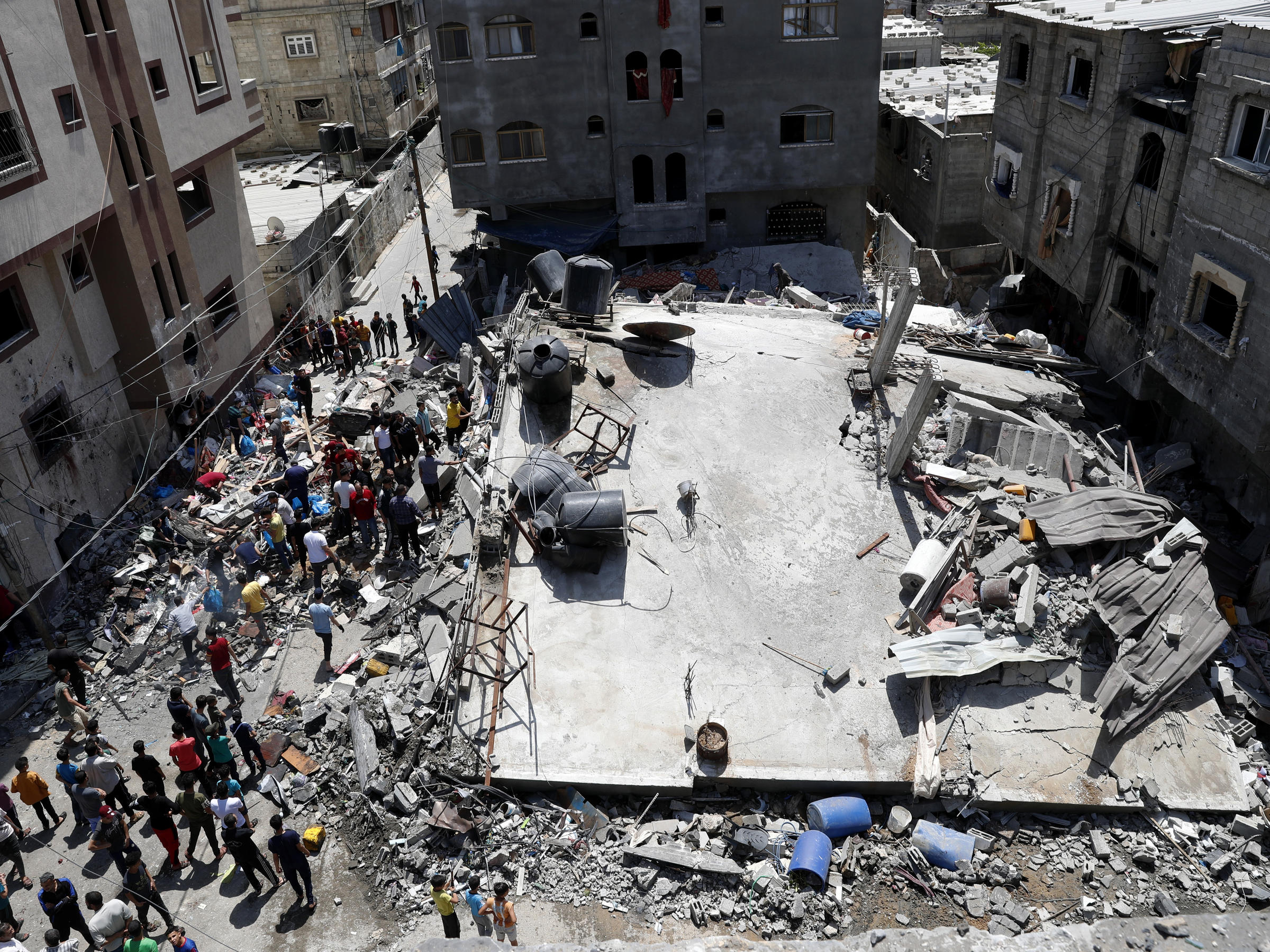 Israel And Hamas Agree To A Cease-fire In The Gaza Conflict | WPRL