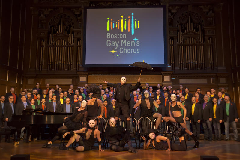 <p>The Boston Gay Men's Chorus.</p>