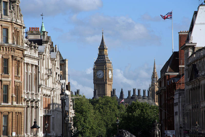 <p>Whitehall is the seat of British Government.</p>