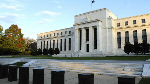 The Federal Reserve is set to make an interest-rate announcement later Wednesday.