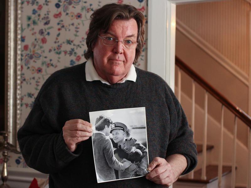 Jim Stockdale in his Pennsylvania home.