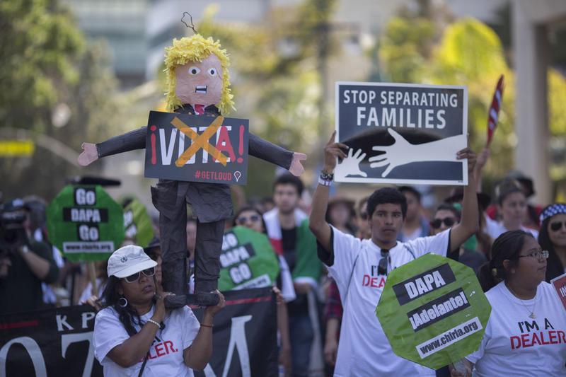 Trump's Words, Politics Threaten GOP's Inroads With Latinos