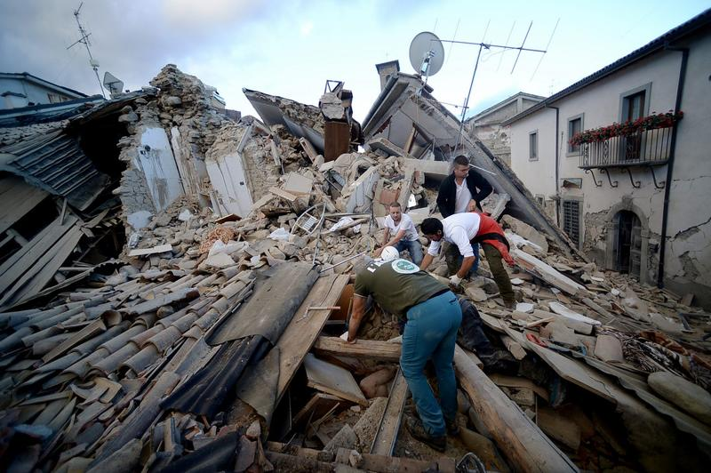 Death Toll Rises After Earthquake Rocks Central Italy