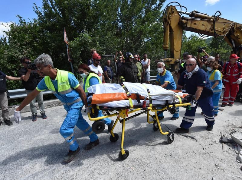 Central Italy Earthquake Reduces Towns To Rubble; Death Toll Up To 120