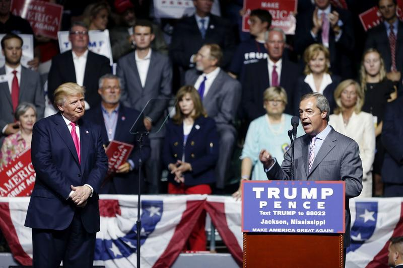 Trump Joined By Brexit Architect At Speech In Mississippi