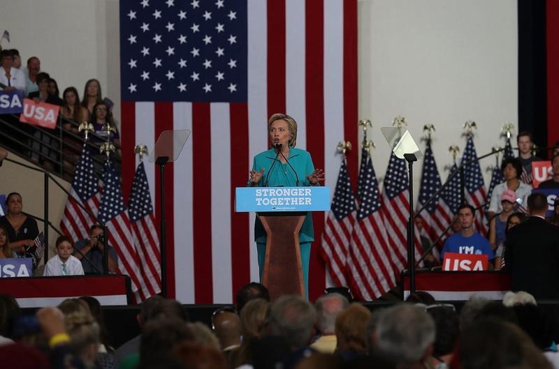 Election Roundtable: Clinton, Trump Trade Accusations Of Bigotry