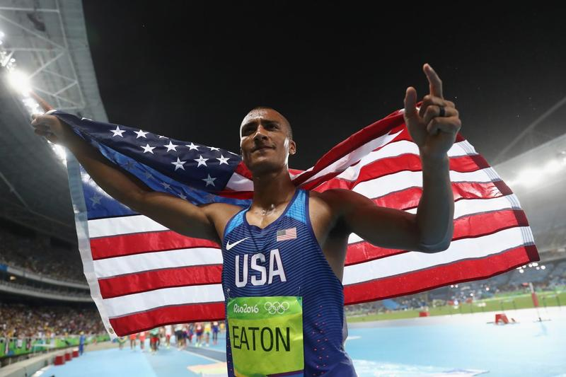U.S. Medal Count Gets A Big Boost From Track And Field Dominance