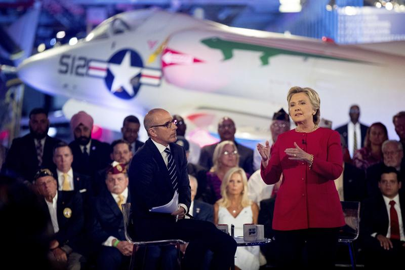 Clinton And Trump Struggle On Emails, ISIS