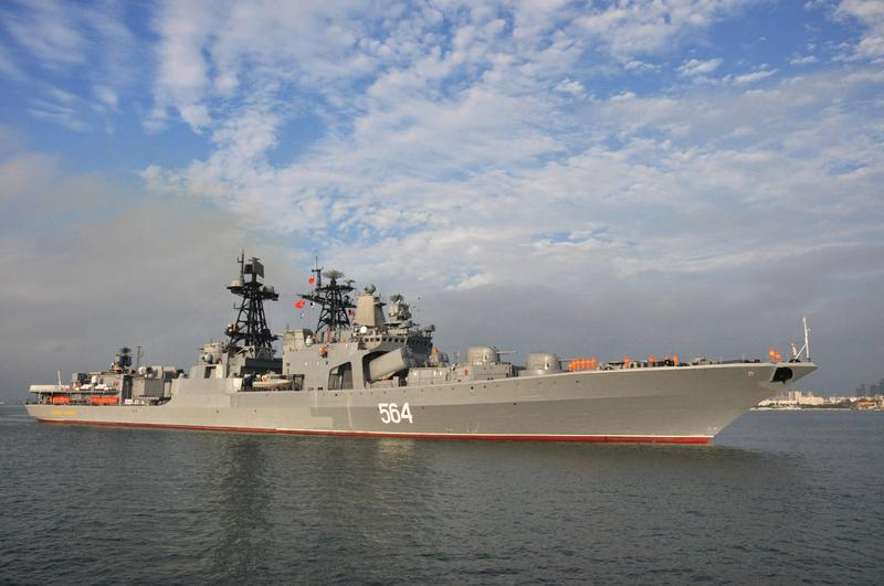 In South China Sea, War Games Set Sail In Troubled Waters