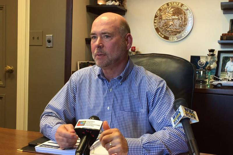 House Speaker Brian Bosma says he's received a lot of interest from members of his caucus over two open committee leadership posts. (Brandon Smith/IPB News)