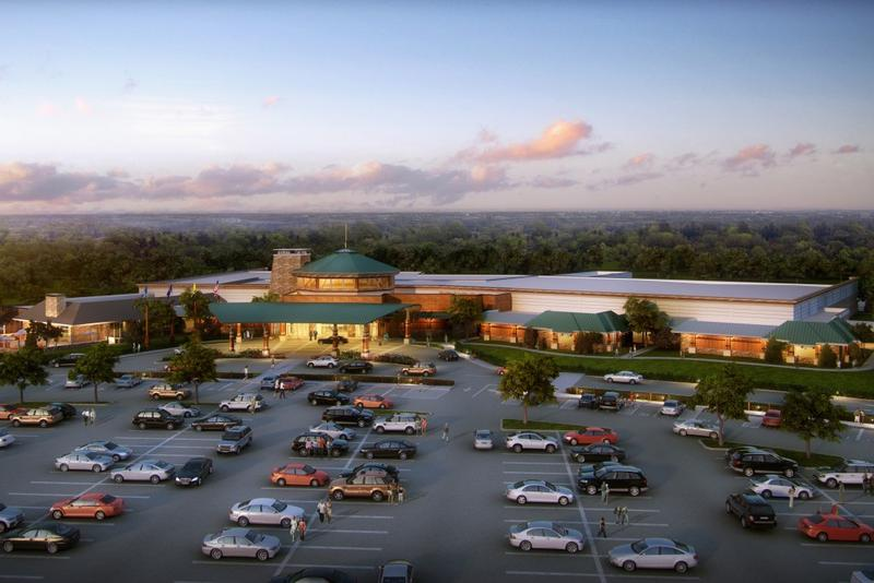 The Four Winds South Bend tribal casino will open in early 2018. (Courtesy: Pokagon Band)