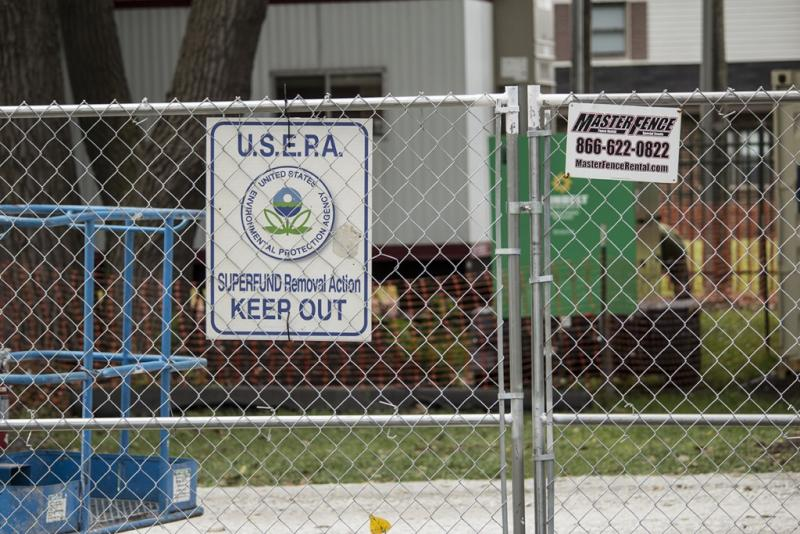 The EPA has been in East Chicago periodically since 1985. (Nick Janzen, IPB News)