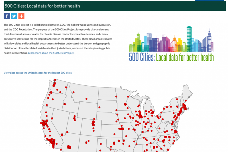 (cdc.gov/500cities/)