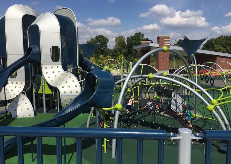 A park in Carmel, a suburb of Indianapolis. (Jill Sheridan/IPB News)