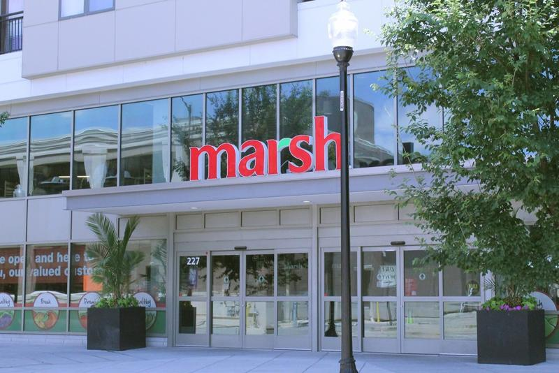 This Marsh, in downtown Indianapolis, is one of the 44 remaining stores. (Lauren Chapman/IPB News)