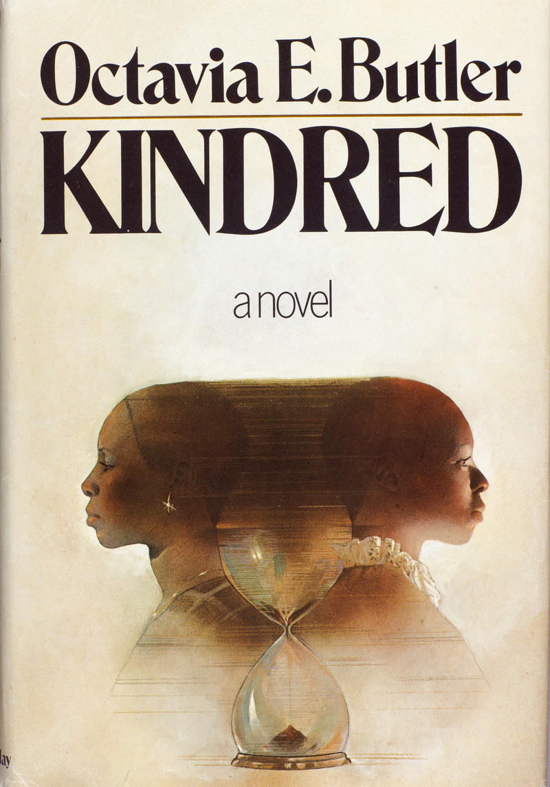 Cover for the first edition of Kindred, published by Doubleday in 1979