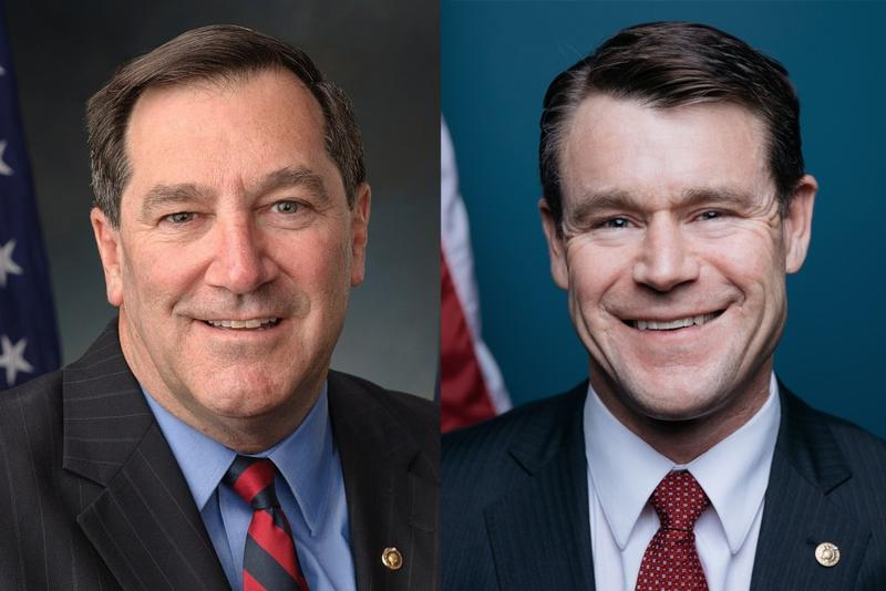 U.S. Sens. Joe Donnelly (D-Ind.) and Todd Young (R-Ind.). (senate.gov)