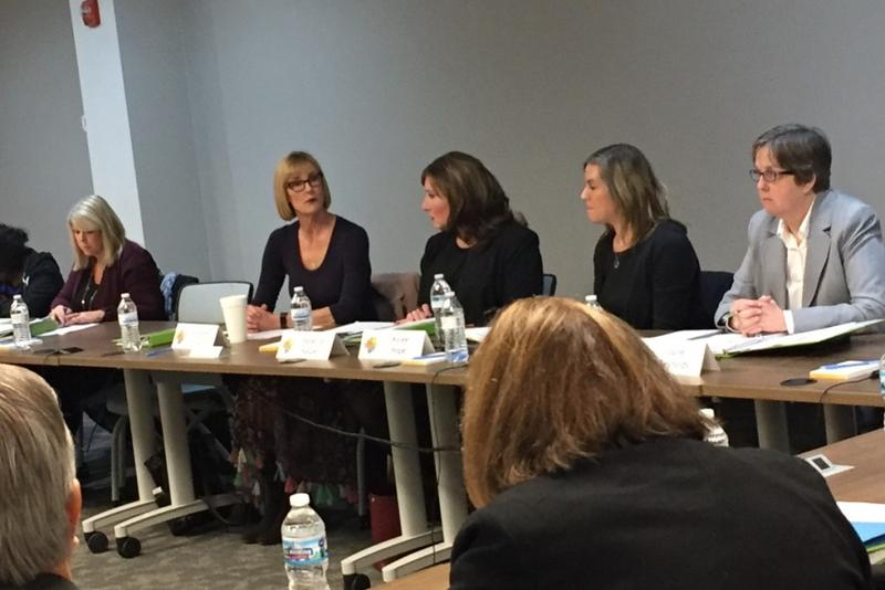 The Intellectual and Developmental Disabilities Task Force had their first meeting at Bosma Enterprises in Indianapolis. (Jill Sheridan/IPB News)