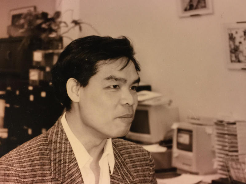 <p>Andrew Lam joined Pacific News Service in 1990. Their second office on Market Street in San Francisco — the first was destroyed in a 1989 earthquake — is where he became a journalist. Pacific News Service and New America Media will close their doors on