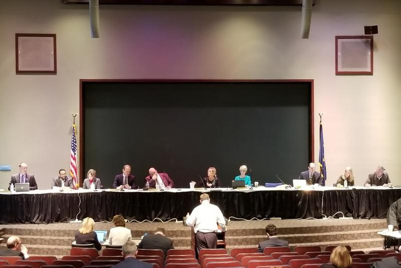The State Board of Education approved a proposal on the state's school grading system at their first meeting of 2018. (Jeanie Lindsay/IPB News)