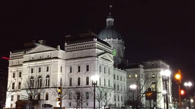 Indiana Capital Building. (Credit: WFYI Public Media)