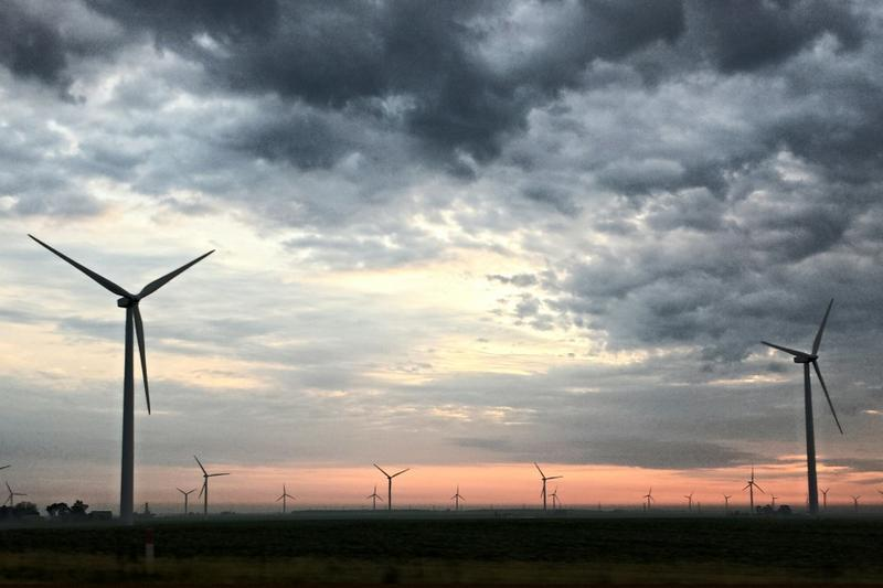 An Indiana University professor's study says the transition to renewable energy can negatively impact populations, says legislation can help soften blow. (Tony Krabill/WVPE)