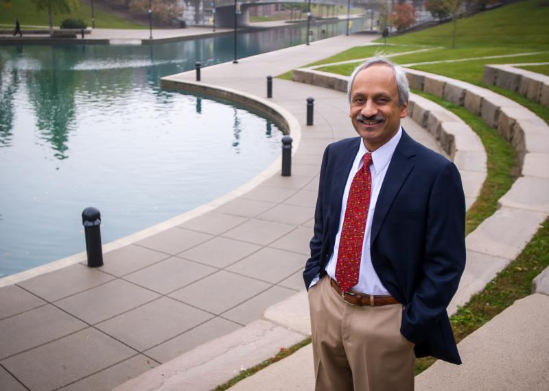 Anantha Shekhar, MD, PhD, founding director of the Indiana CTSI. (Photo courtesy of Indiana University School of Medicine)