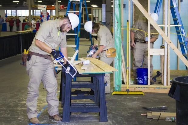 Students from around the nation compete each year in job skills contests at the SkillsUSA national competition. (FILE PHOTO: Peter Balonon-Rosen/IPB News)