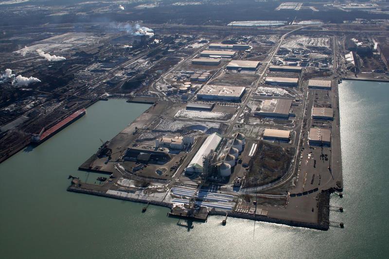 U.S. Steel's Midwest Plant in Portage, Indiana. (Galina Ovtcharova & Alexei Ovtcharov/Fotki)