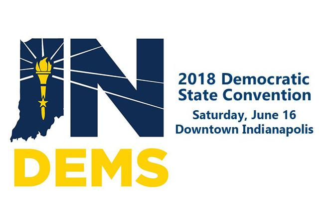 Indiana Democratic Party delegates will officially choose their candidates to run for statewide office at this weekend's convention. (Indiana Democratic Party)