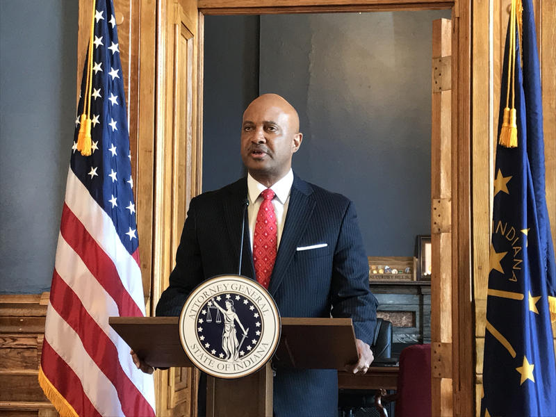 Four women say Attorney General Curtis Hill groped them at a party. (Brandon Smith/IPB News)