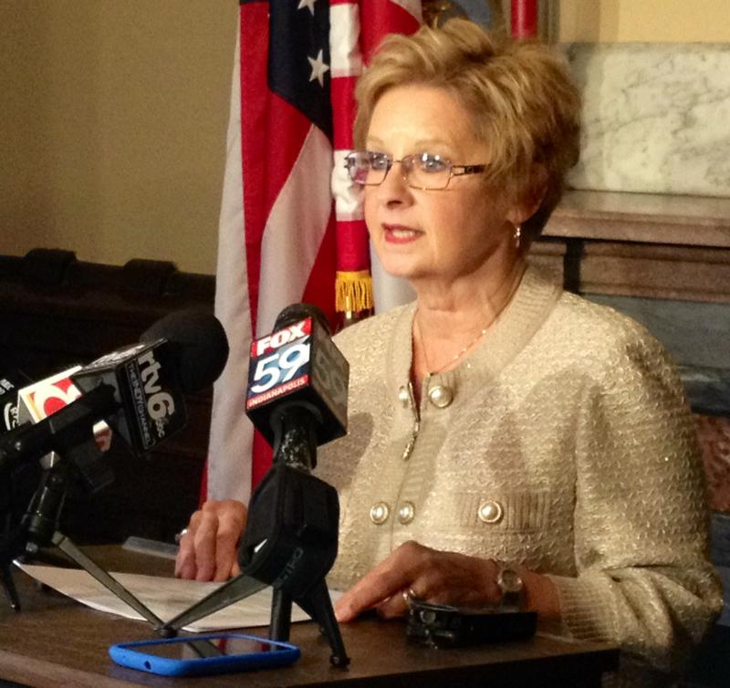The Indiana Election Commission denied a challenge to Secretary of State Connie Lawson's eligibility in the upcoming election. (Brandon Smith/IPB News)
