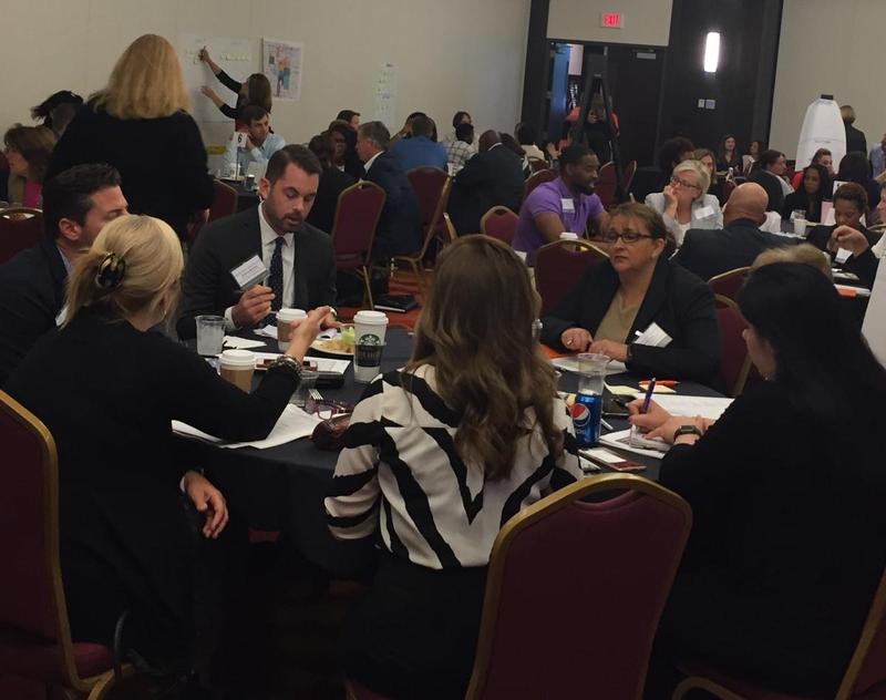 Health leaders discuss infant mortality in Indianapolis. (Jill Sheridan/IPB News)