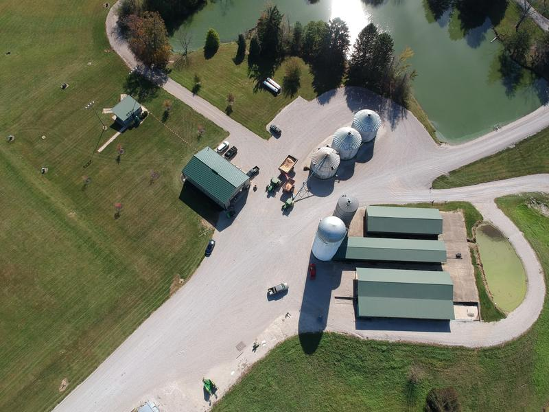 The school's farm campus is located in Morgan County. (Photo courtesy of Indiana Agriculture and Technology school)