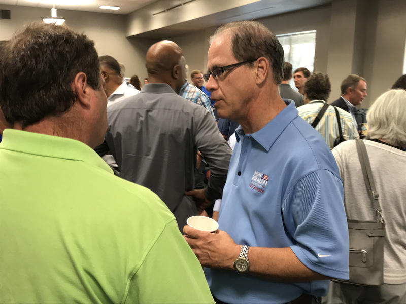 The Indiana Democratic Party filed an ethics complaint against Republican Senate candidate Mike Braun. (Brandon Smith/IPB News)