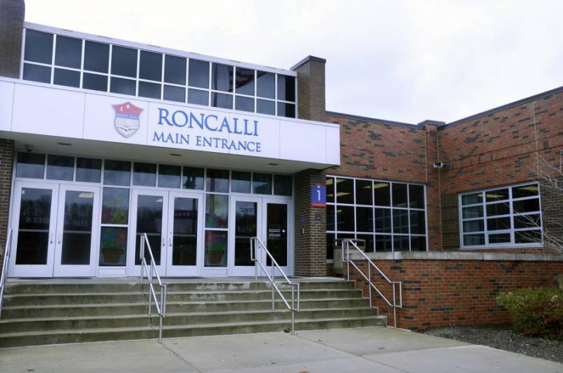 Roncalli High School, a Catholic school in Indianapolis. (FILE PHOTO: Acacia Squires/NPR)