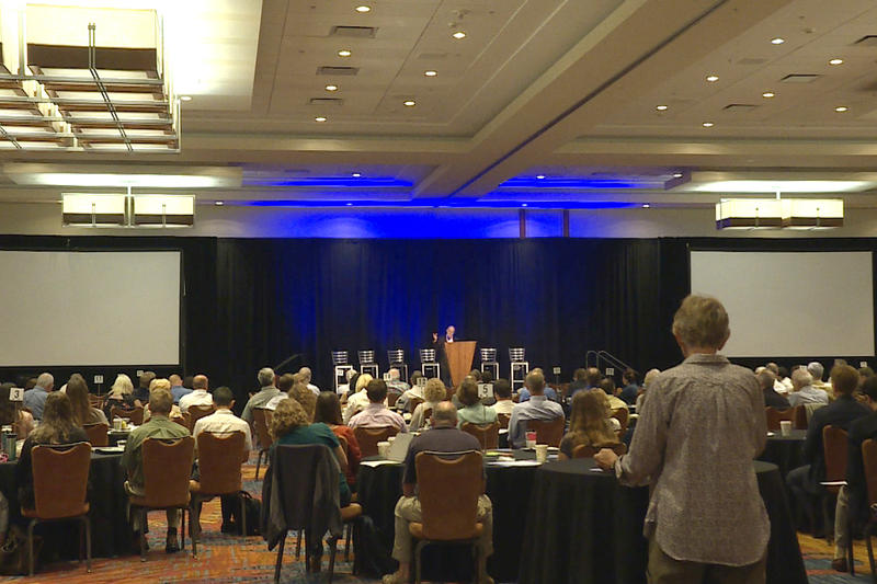 The first Indiana Water Summit at the J.W. Marriot in Indianapolis (Rebecca Thiele/IPB News)